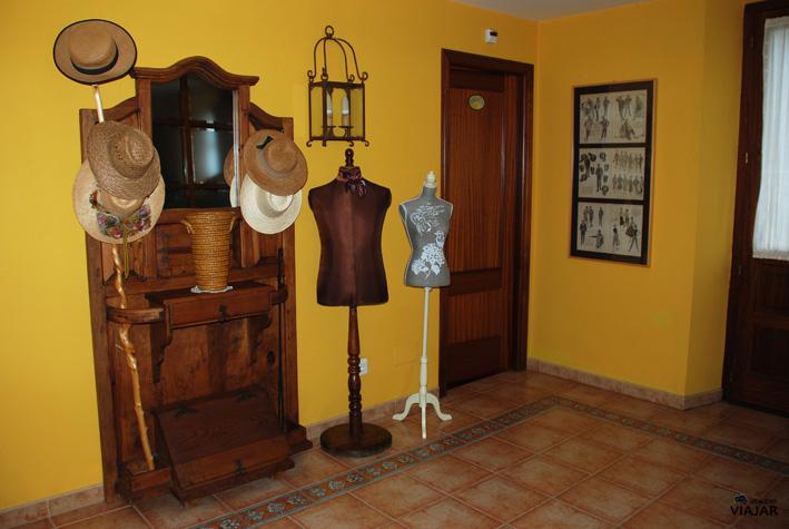 Decoración interior de la Casa Vieja del Sastre