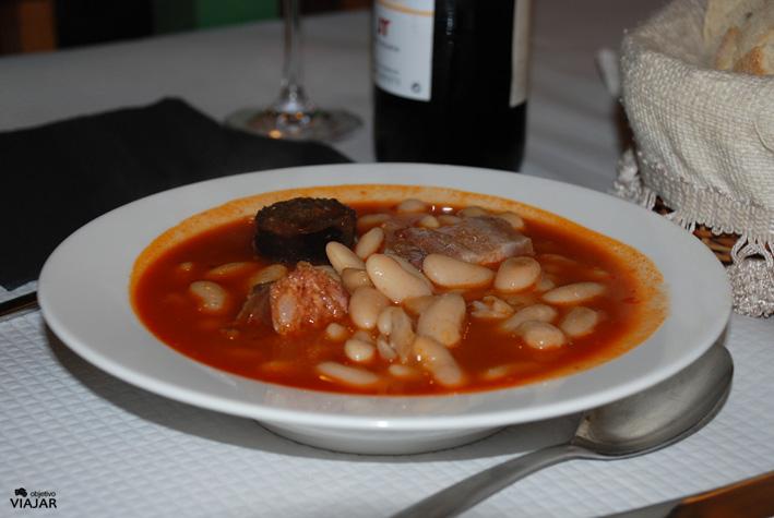 Fabada asturiana. Rte. Brasas. Luarca