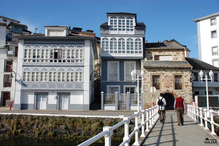 Puente del Beso, Luarca. Asturias.