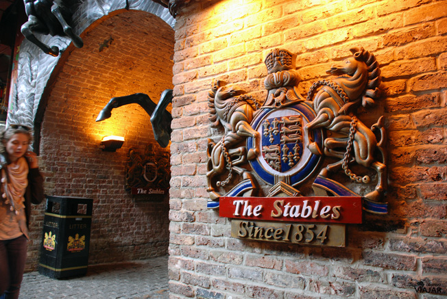 The Stables Market. Camden Town