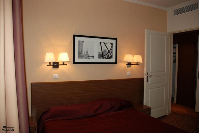 El dormitorio de nuestro apartamento en París