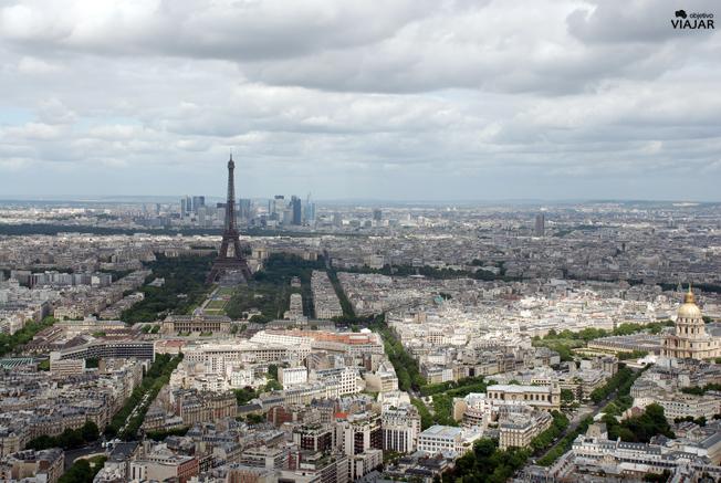 Panorámica de París desde la Torre Montparnasse