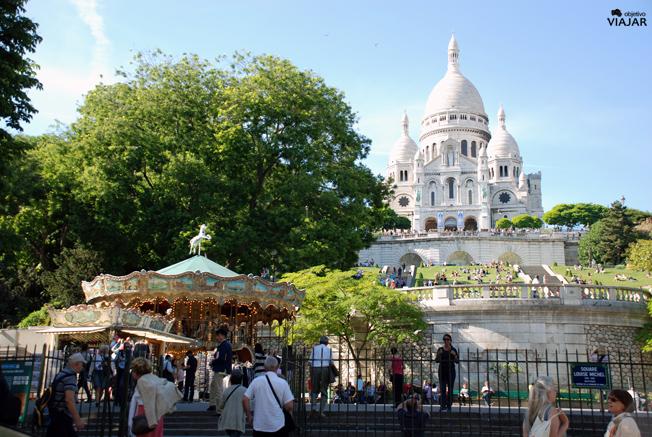 Sacré-Coeur. París