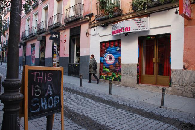 Calle Velarde. Malasaña