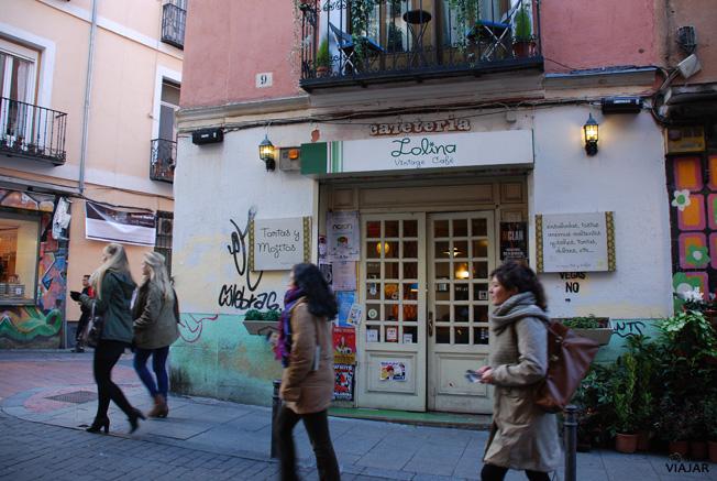 Lolina Vintage Café. Malasaña