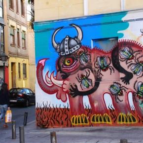 Postales de Malasaña: Manuela, la movida, arte urbano y cupcakes