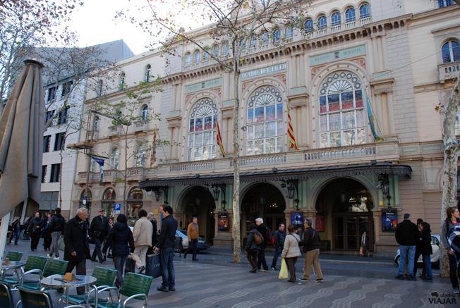 Gran Teatre del Liceu. Barcelona