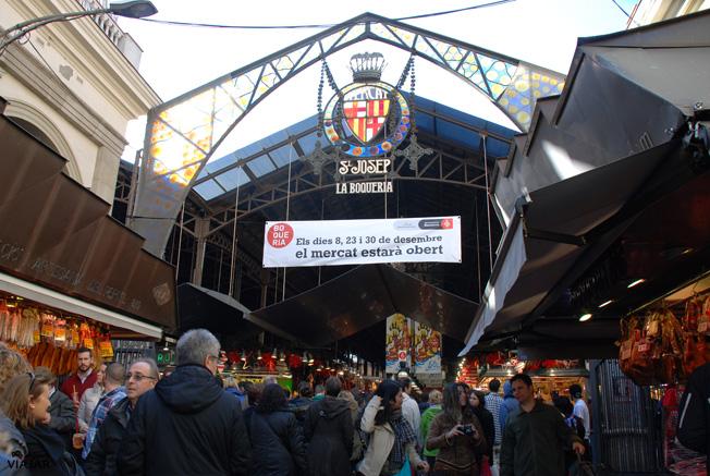 Mercado de la Boquería. Barcelona