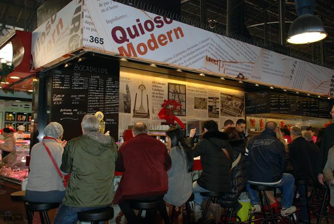 Bar Quiosc Modern. La Boqueria.