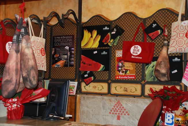 Souvenirs La Boqueria. Barcelona