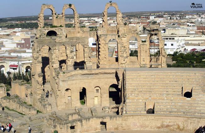 Anfiteatro de El Jem. Túnez