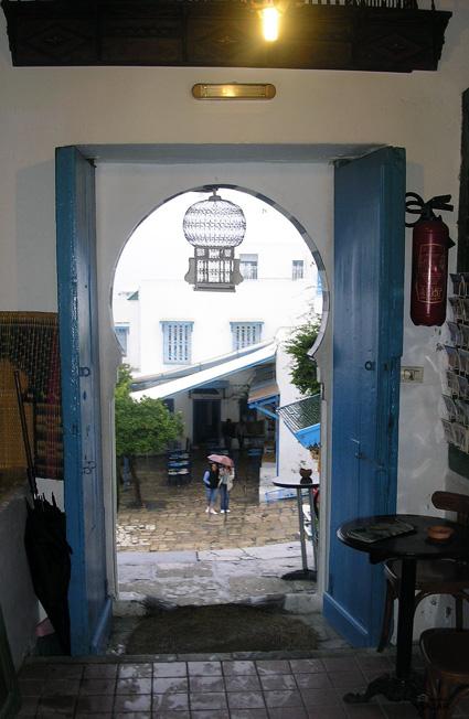 Café des Nattes. Sidi Bou Saïd. Túnez