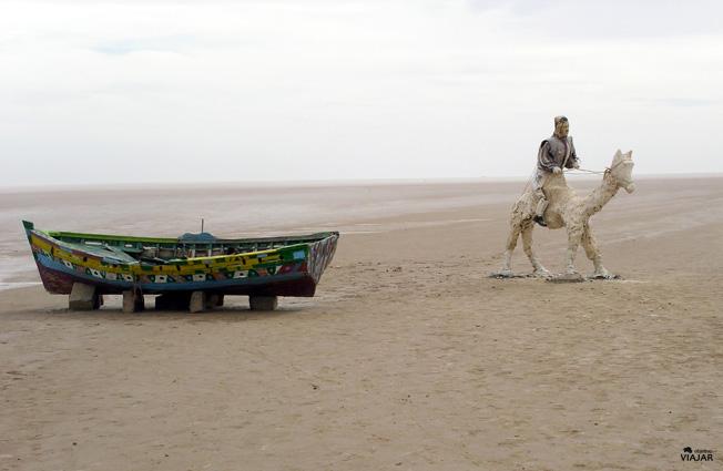El lago de sal de Chott El Jerid. Circuito por Tunez segunda parte