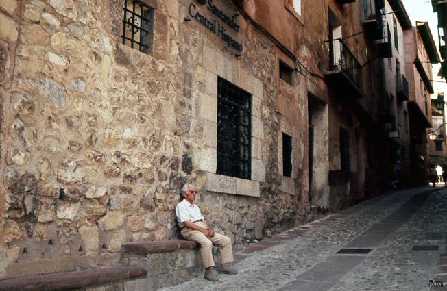 El tiempo parece haberse detenido en Albarracín