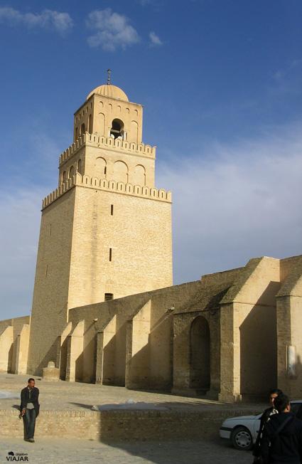 Gran Mezquita de Kairouan. Túnez