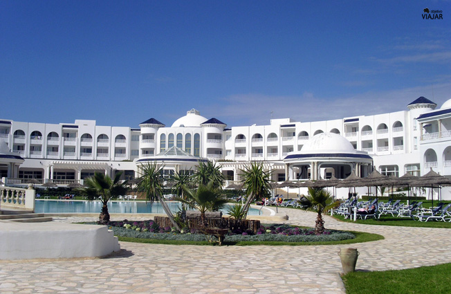 Hotel Vincci Taj Sultan. Yasmine Hammamet. Circuito por Túnez