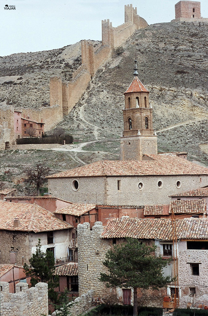 Iglesia de Santiago. Albarracín
