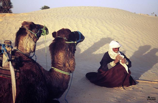Mi foto preferida en el Gran Erg Oriental del Sáhara. Túnez