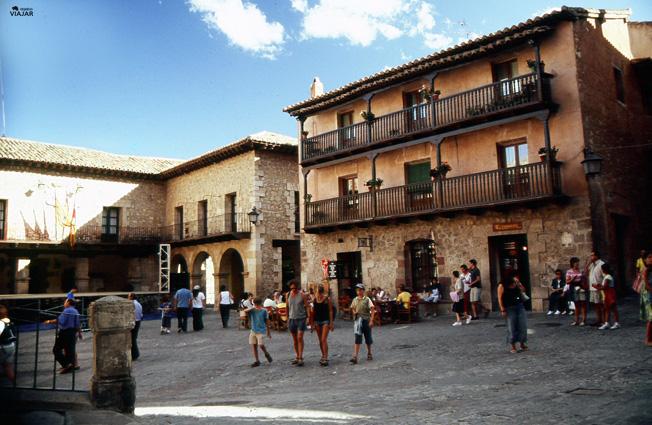 Plaza Mayor. Albarracín