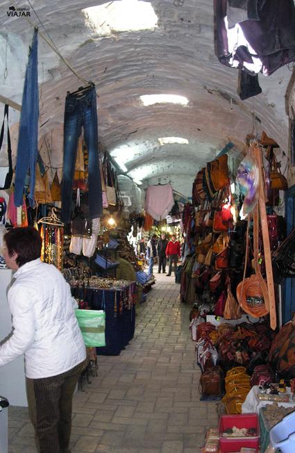 Slow shopping en Nabeul. Circuito por Túnez