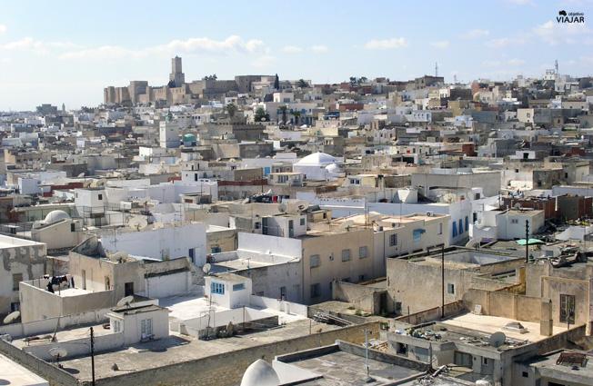 Sousse desde el Ribat. Circuito por Tunez