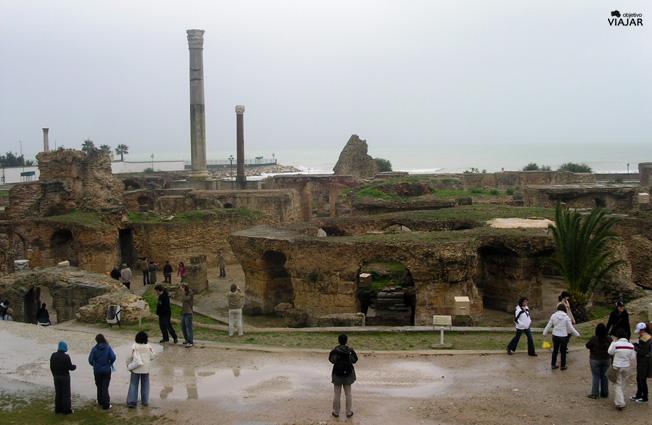 Termas de Antonino. Cartago. Circuito por Túnez