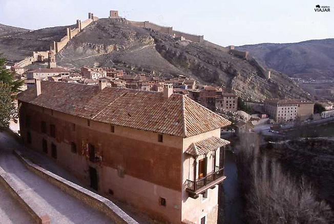 Vista de Albarracín y el río Guadalaviar