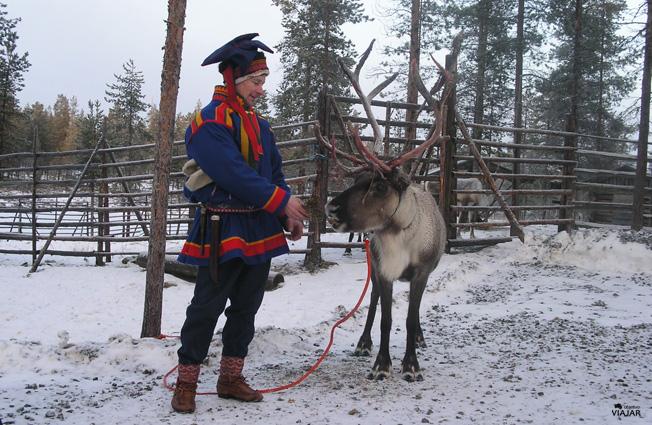 En la Laponia Finlandesa con los Sámi