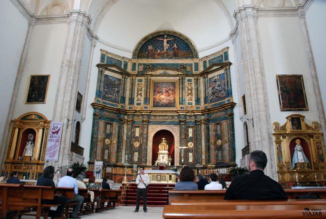 Interior de la Iglesia de Nuestra Señora de la Asunción. Chinchón