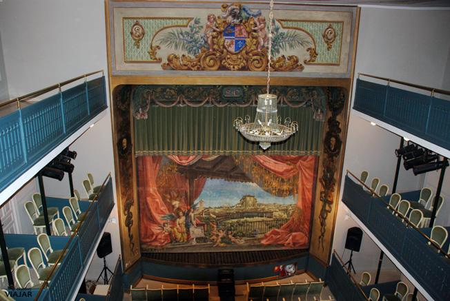 Interior del Teatro Lope de Vega. Chinchón
