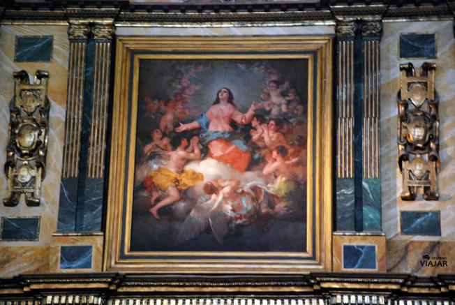 La Asunción de la Virgen de Francisco de Goya. Chinchón