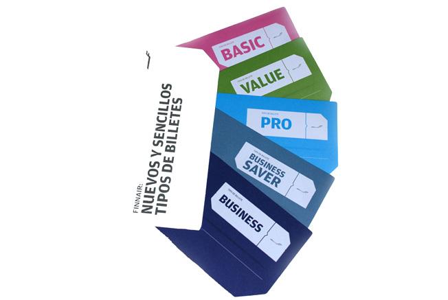 Nuevos tipos de billetes de Finnair