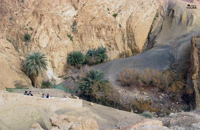 Oasis de Chebika. Tunez