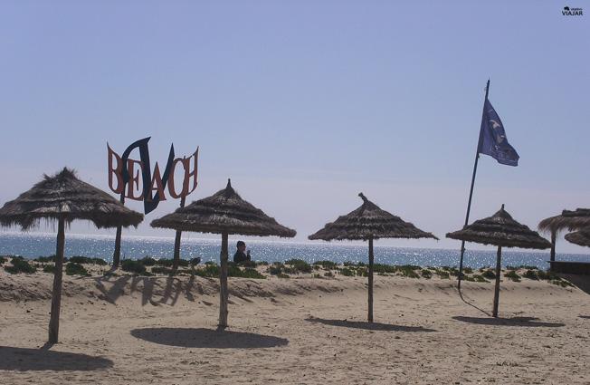 Playa del hotel Vincci Taj Sultan. Yasmine Hammamet