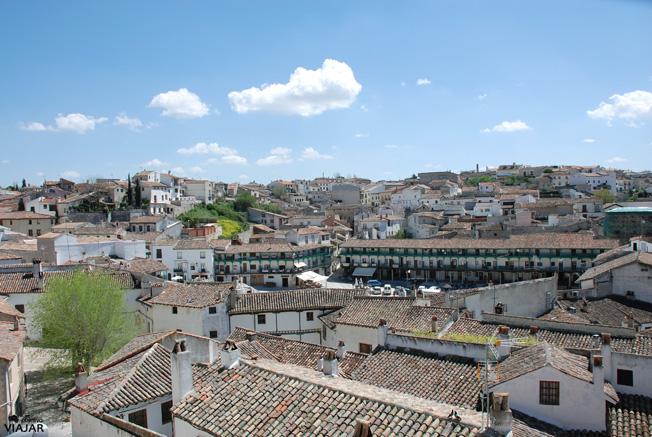 Vista de Chinchón desde la Plazuela de Palacio