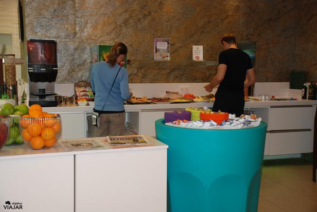 Salón de desayunos. Hotel Ibis Styles Madrid Prado