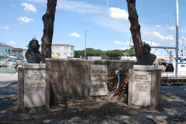 Corso Giuseppe Garibaldi. Cesenatico