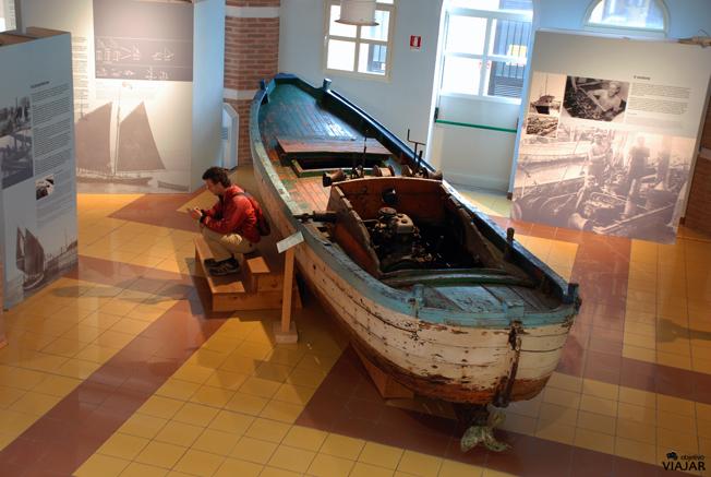 Visitando el Museo della Marineria. Cesenatico