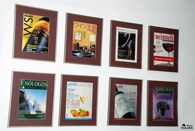 Detalle Sala de Prensa del Vino. Hotel Ibis Styles Madrid Prado