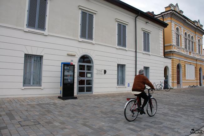 Fachada del Museo della Marineria. Cesenatico