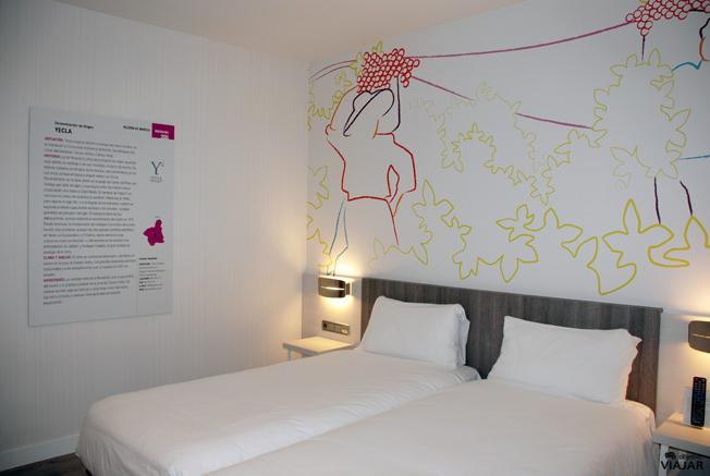 Habitación Yecla. Hotel Ibis Styles Madrid Prado