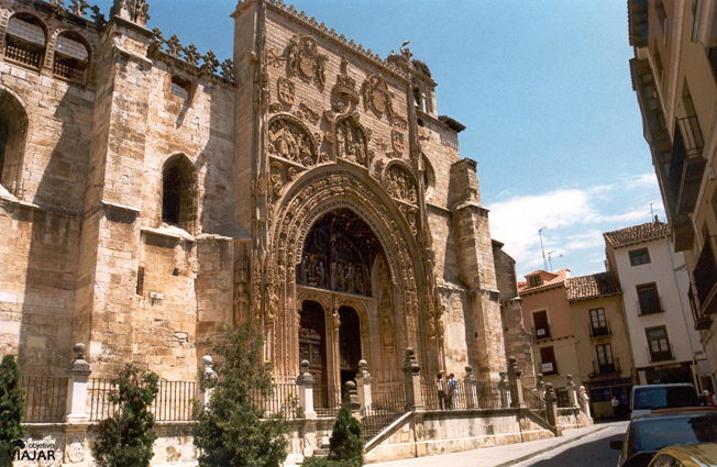 Iglesia de Santa María la Real. Aranda de Duero. Burgos