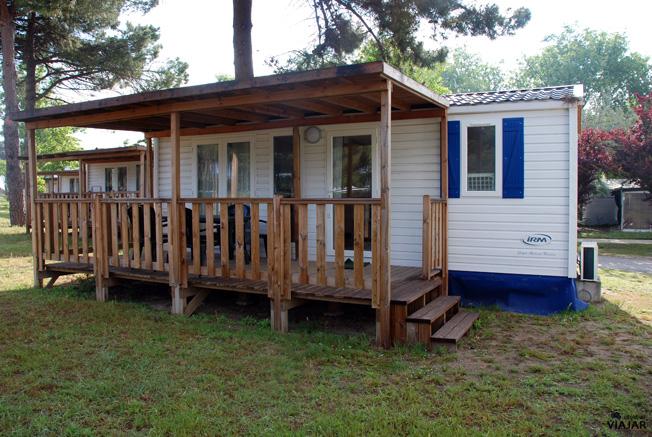 Nuestro Riviera Cottage en el Cesenatico Camping-Village. Cesenatico