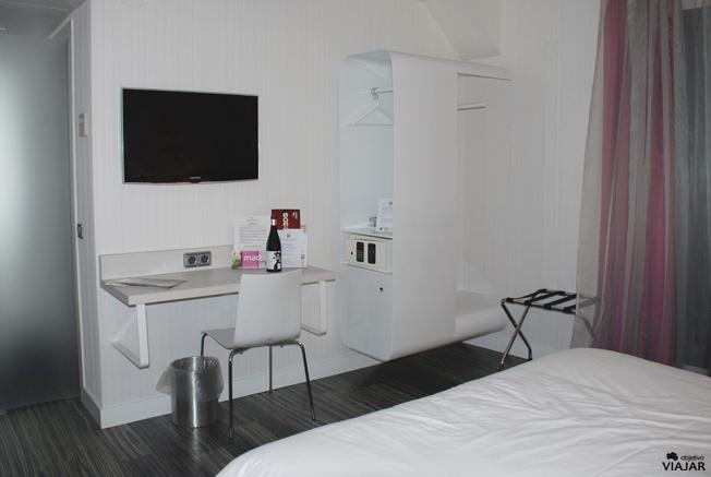 Otra vista de la hab. Rueda. Hotel Ibis Styles Madrid Prado