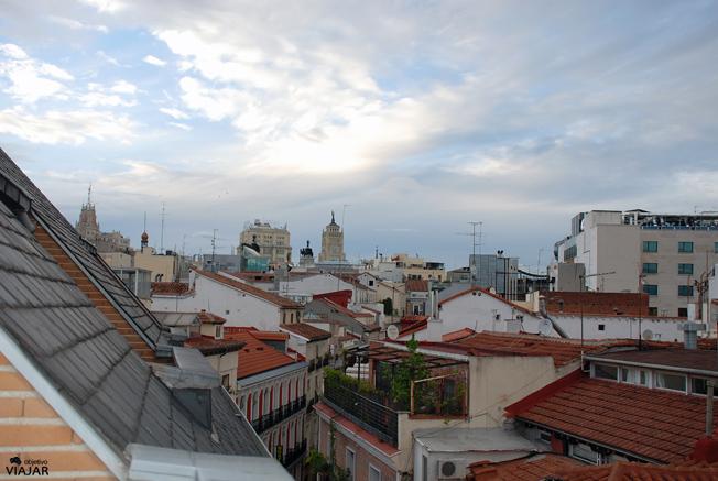 Vistas desde la habitación 603. Hotel Ibis Styles Madrid Prado