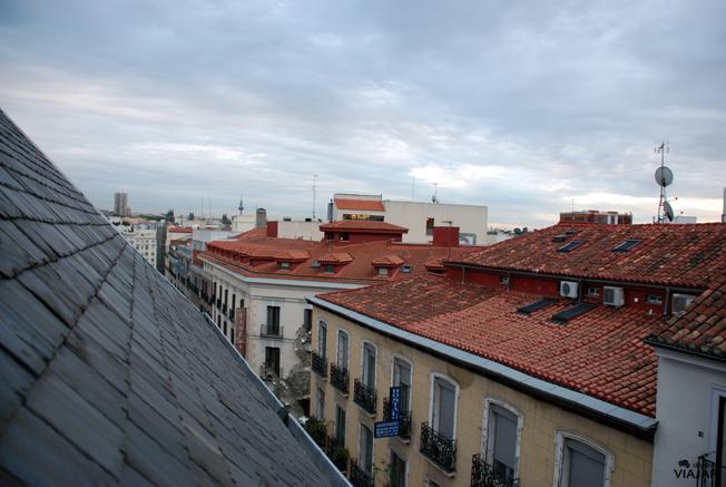 Vistas desde mi habitación. Hotel Ibis Styles Madrid Prado