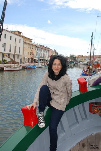 Me encanta navegar. Cesenatico