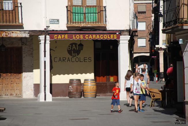 Calle Boticas. Aranda de Duero. Burgos