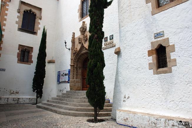 Palau Maricel. Racó de la Calma, Sitges.