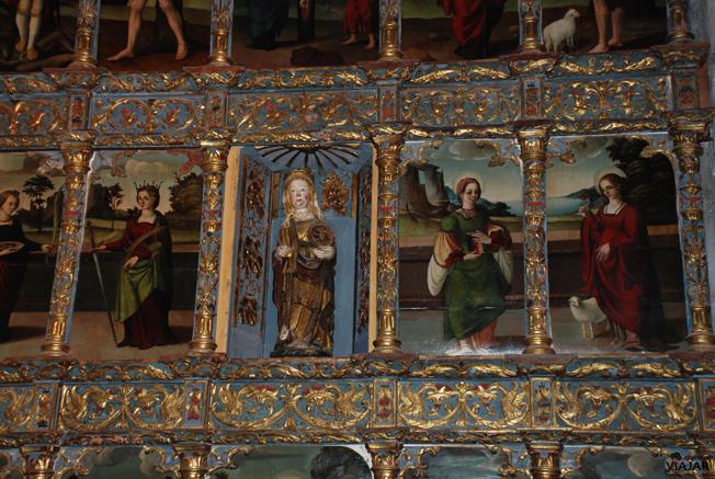 Retablo renacentista. Museo Sacro de San Juan Bautista. Aranda de Duero. Burgos
